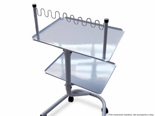 Suporte de cabos para mesa auxiliar tubular arktus - Mesa auxiliar estetica ...